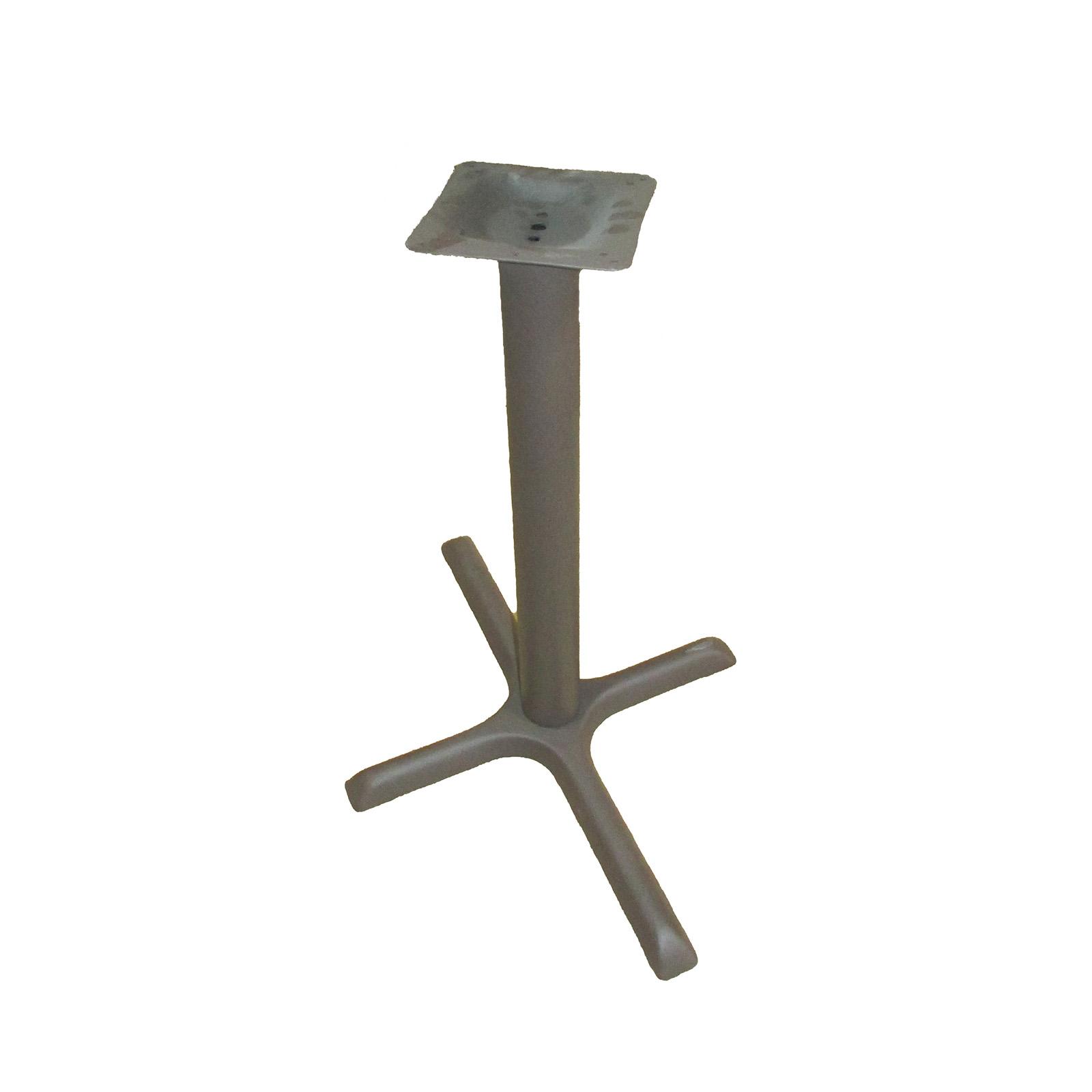 Oak Street B2230BRZ-STD table base, metal