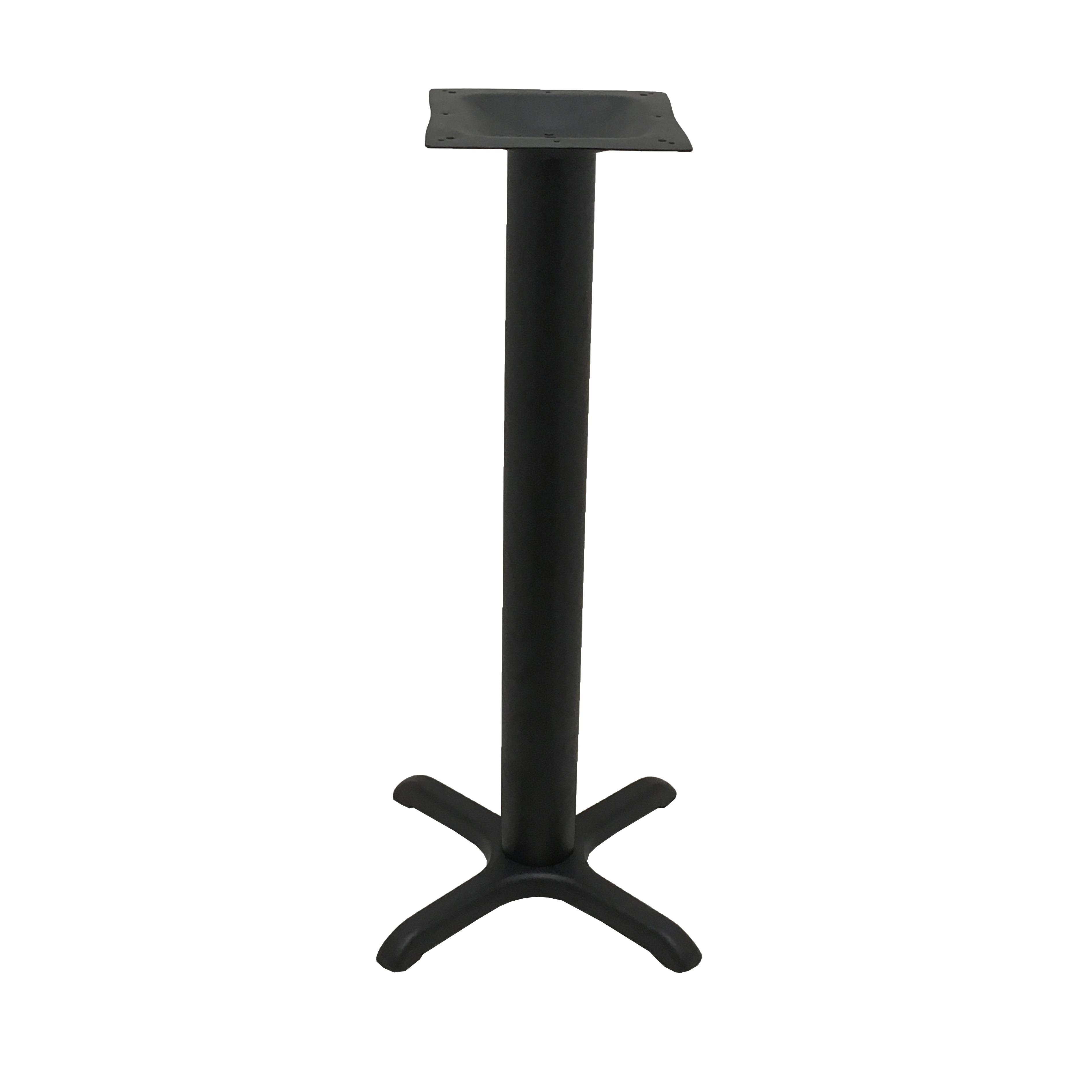Oak Street B22-4-BAR table base, metal