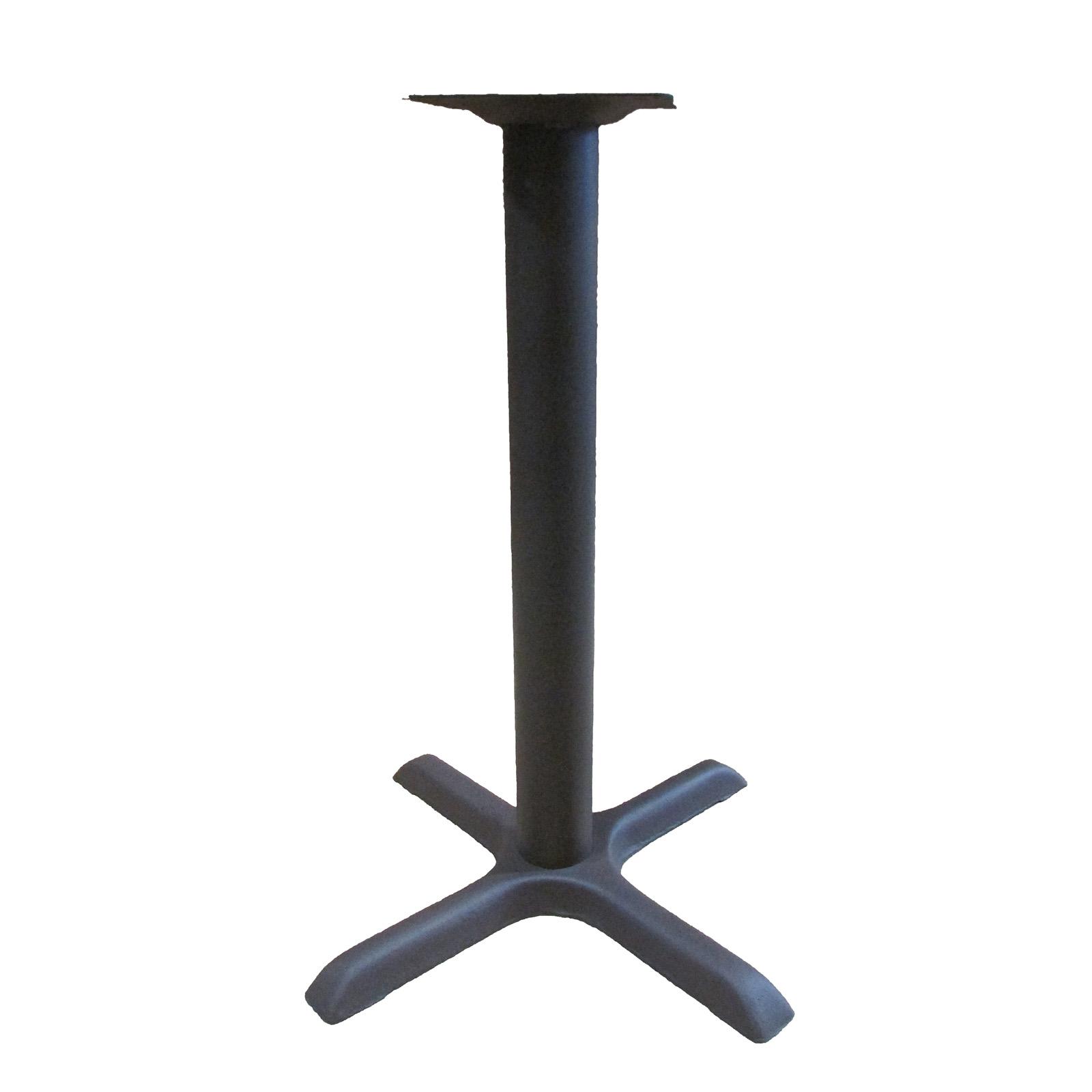 Oak Street B22BRZ-STD table base, metal