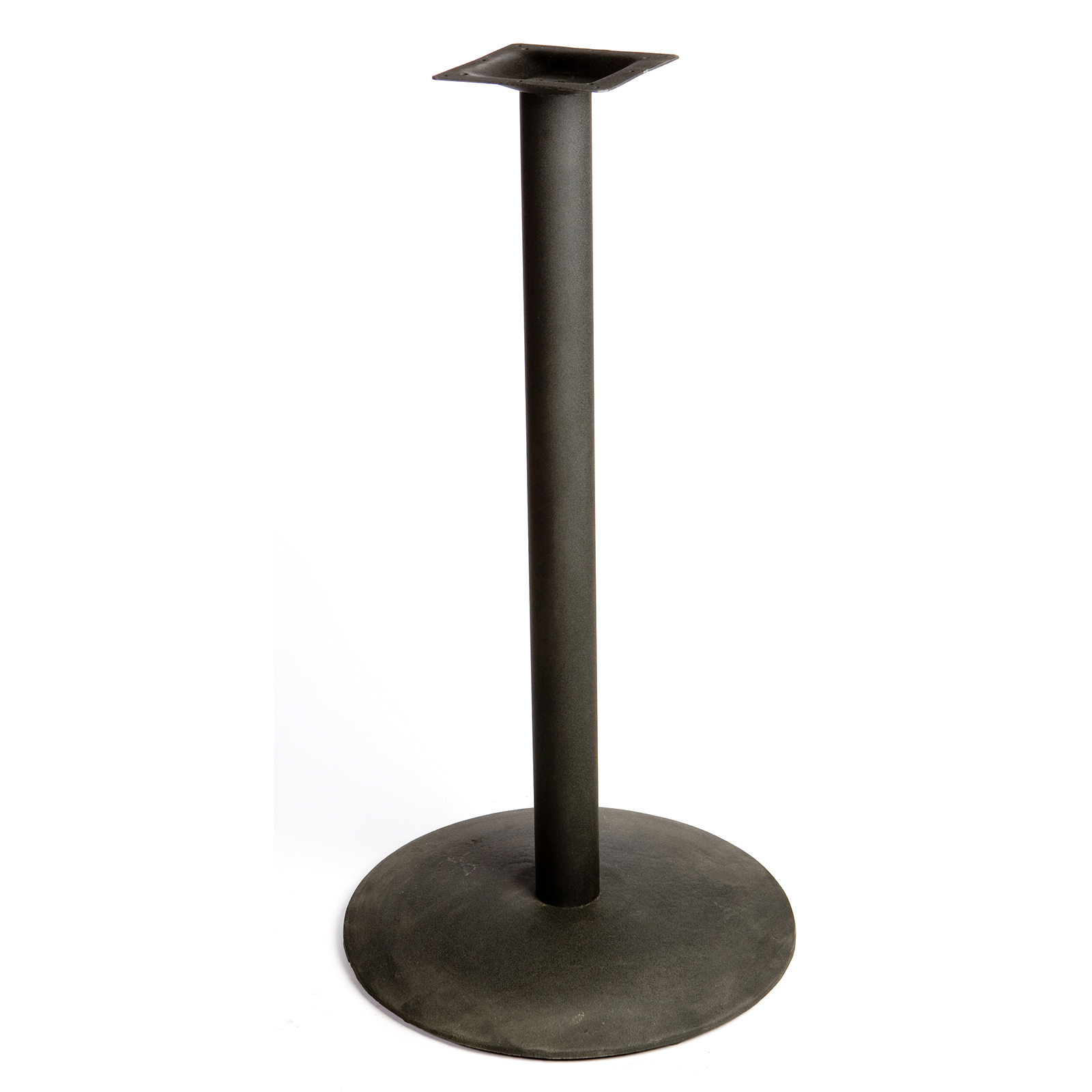 Oak Street B22DISC-BAR table base, metal