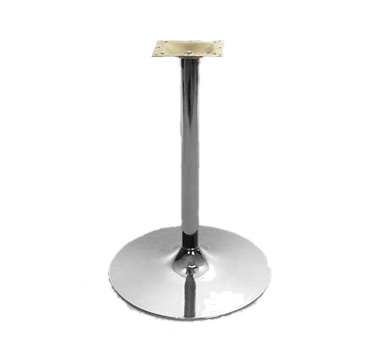 Oak Street B22DISC-CHR-BAR table base, metal