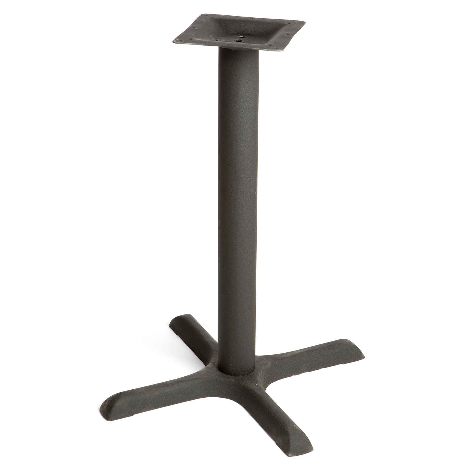 Oak Street B22-STD table base, metal