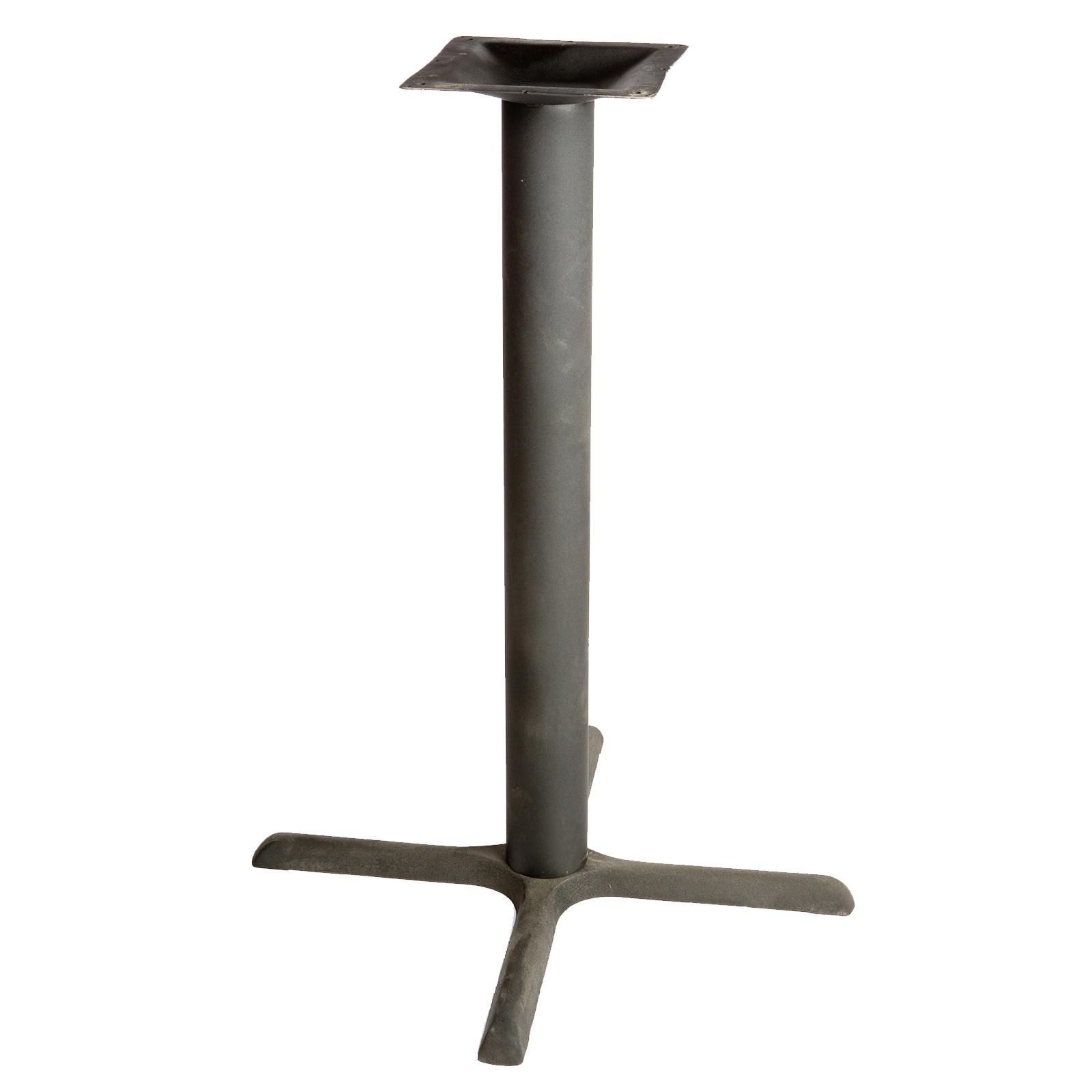 Oak Street B30-BAR table base, metal