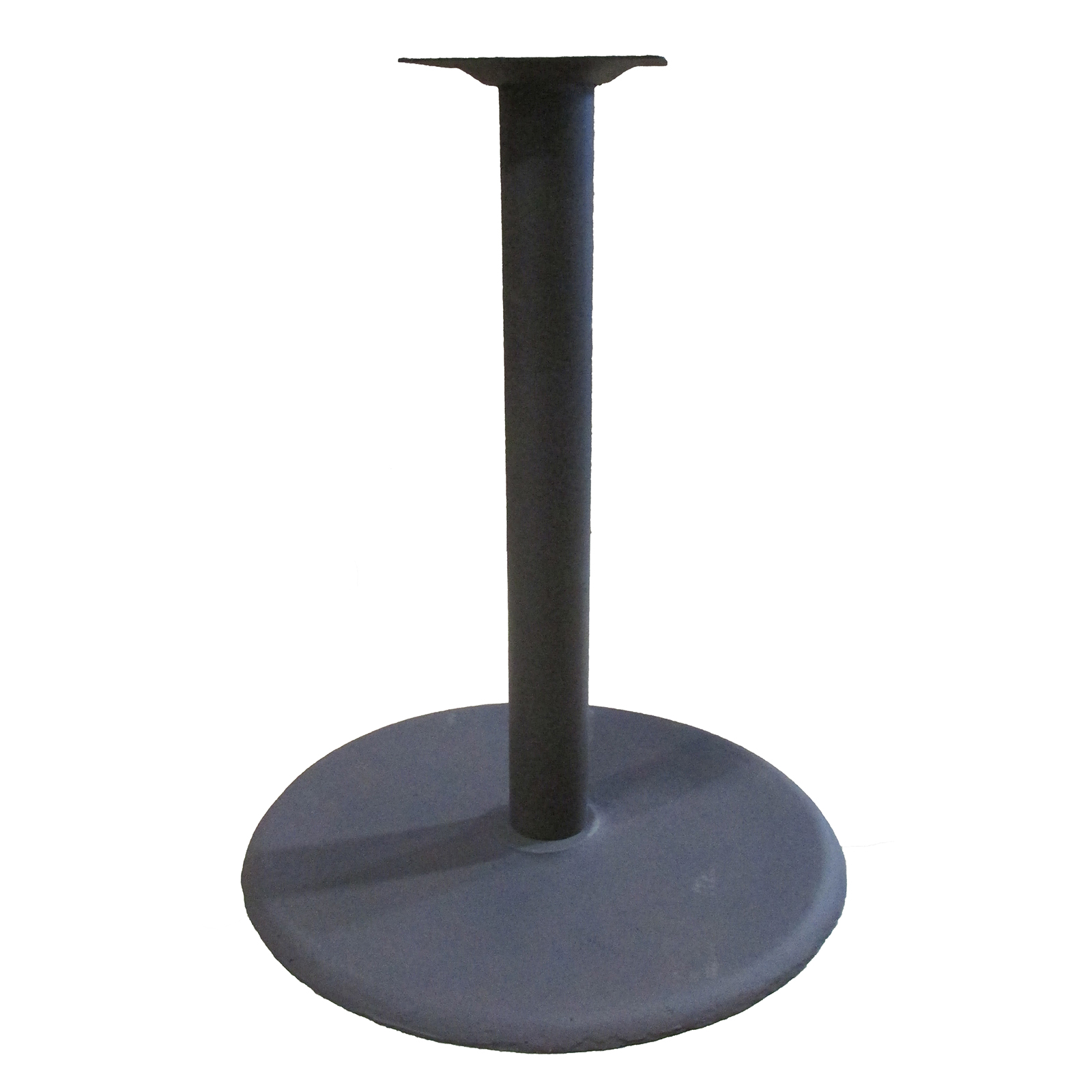 Oak Street B30DISC-STD table base, metal