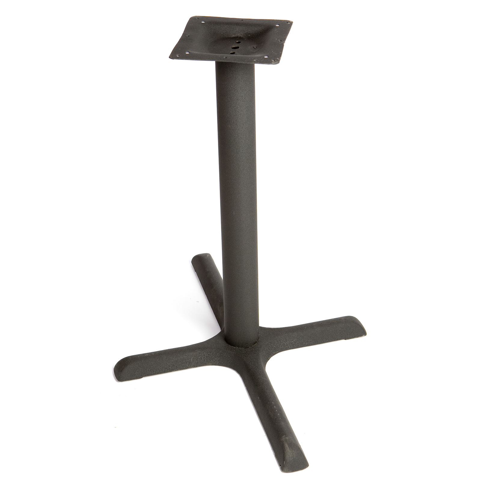 Oak Street B36-STD table base, metal