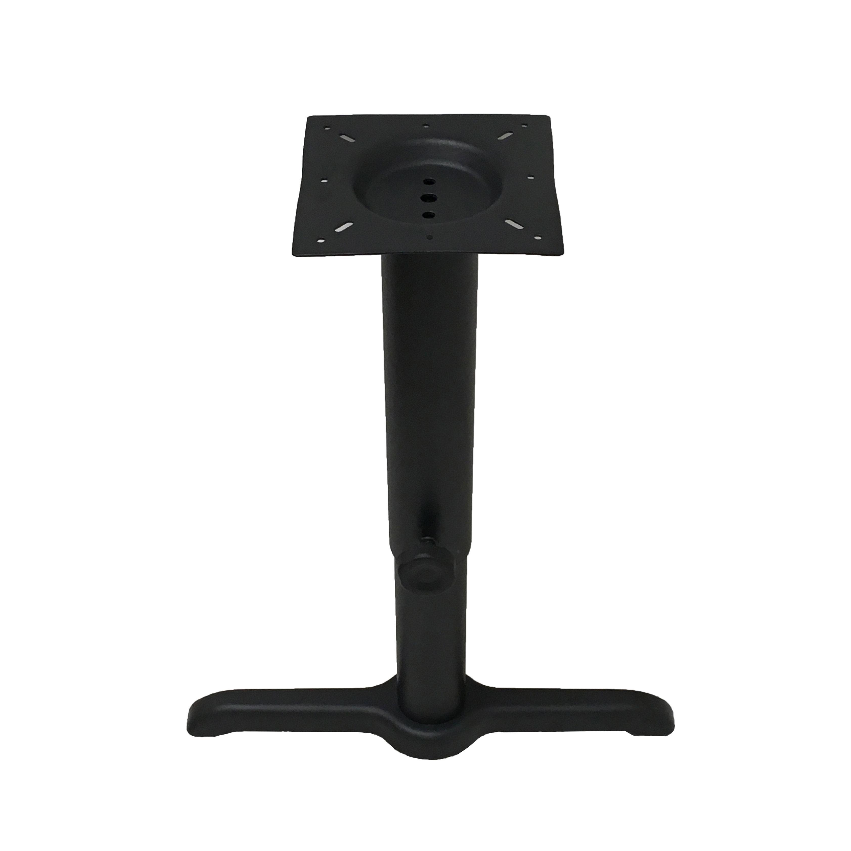 Oak Street B522-ADJ table base, metal