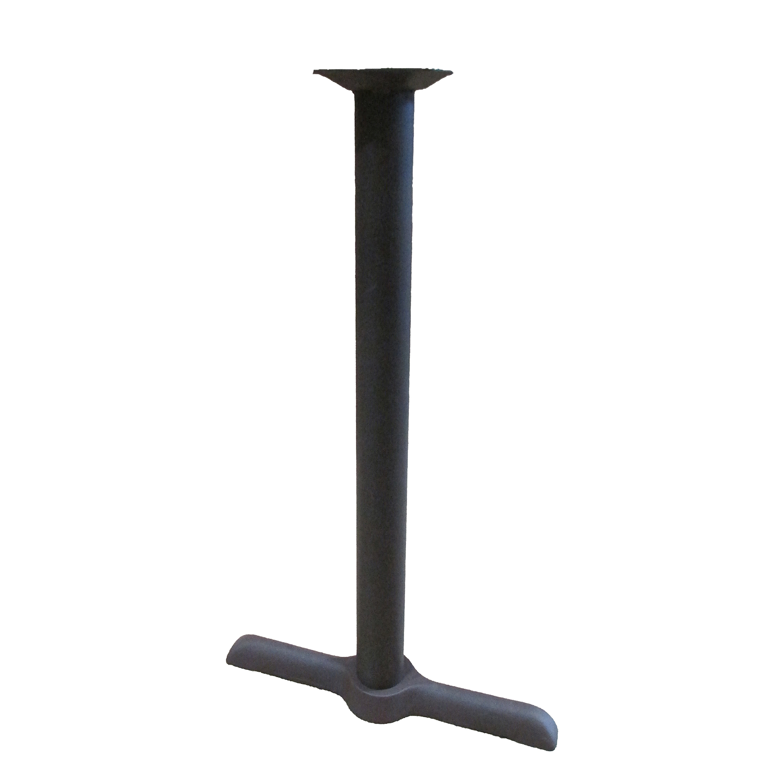 Oak Street B522BRZ-BAR table base, metal