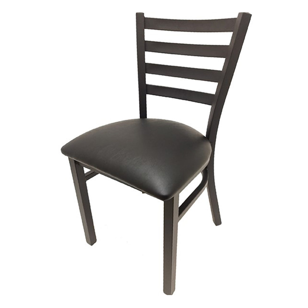 Oak Street CM-1160-BLK chair, side, indoor