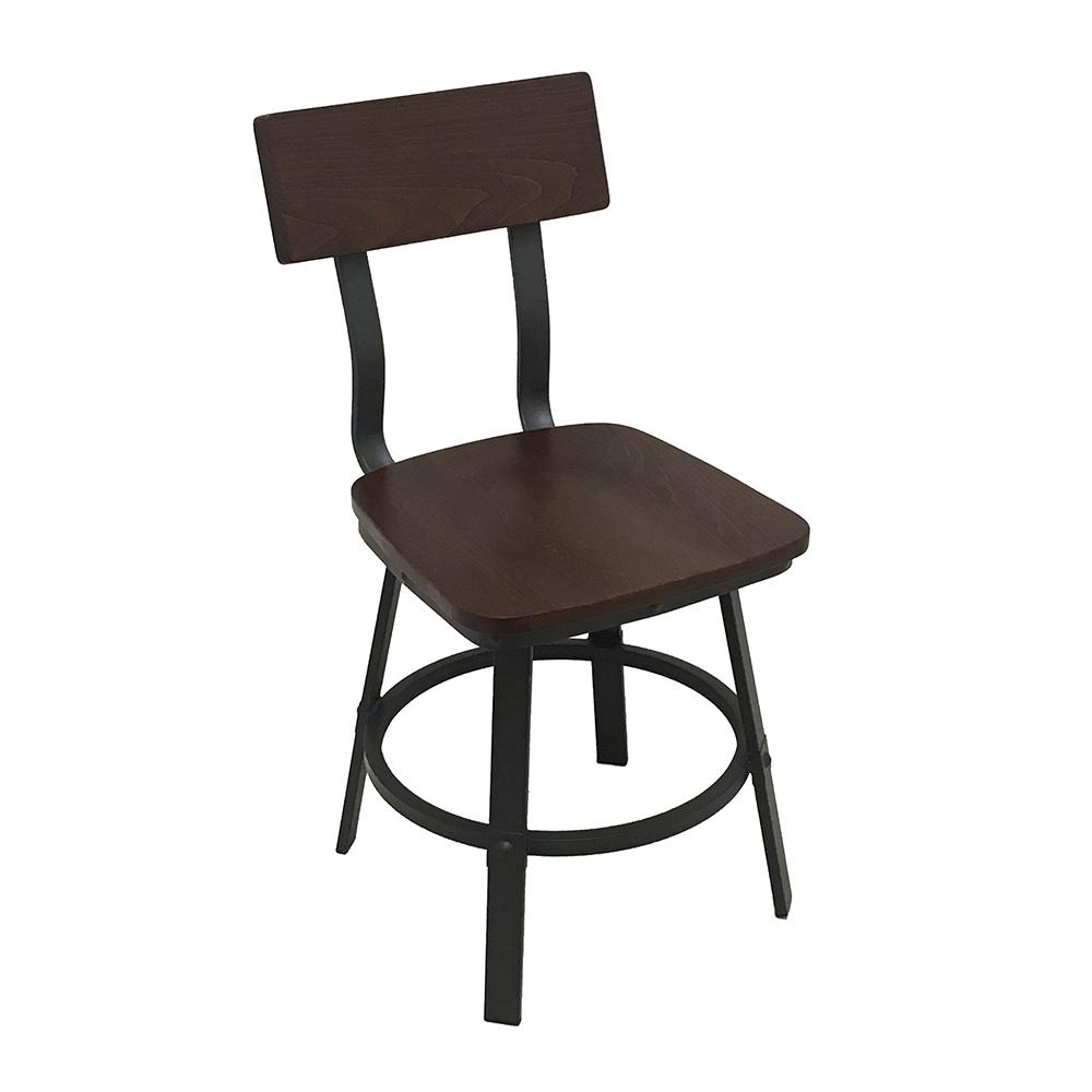 Oak Street CM-6058 chair, side, indoor