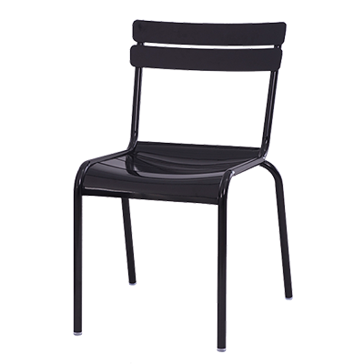 Oak Street CM-824 chair, side, outdoor
