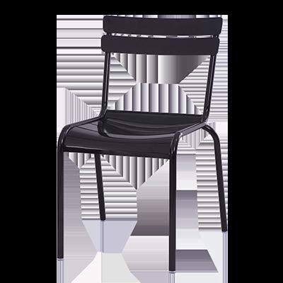 Oak Street CM-824 chair, side, outdoor