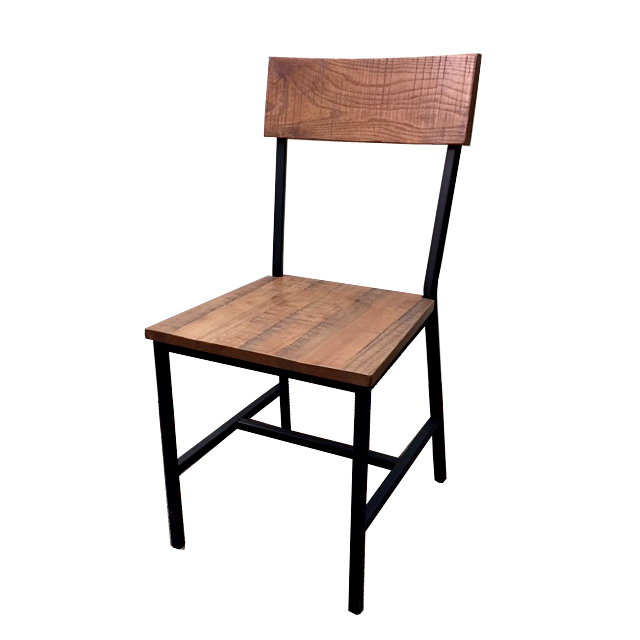 Oak Street CM-W702-BLK chair, side, indoor