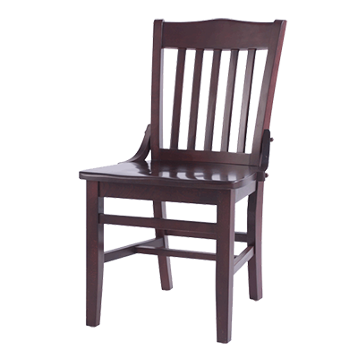 Oak Street CW-554-MH chair, side, indoor