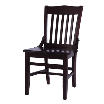 Oak Street CW-554-WA chair, side, indoor