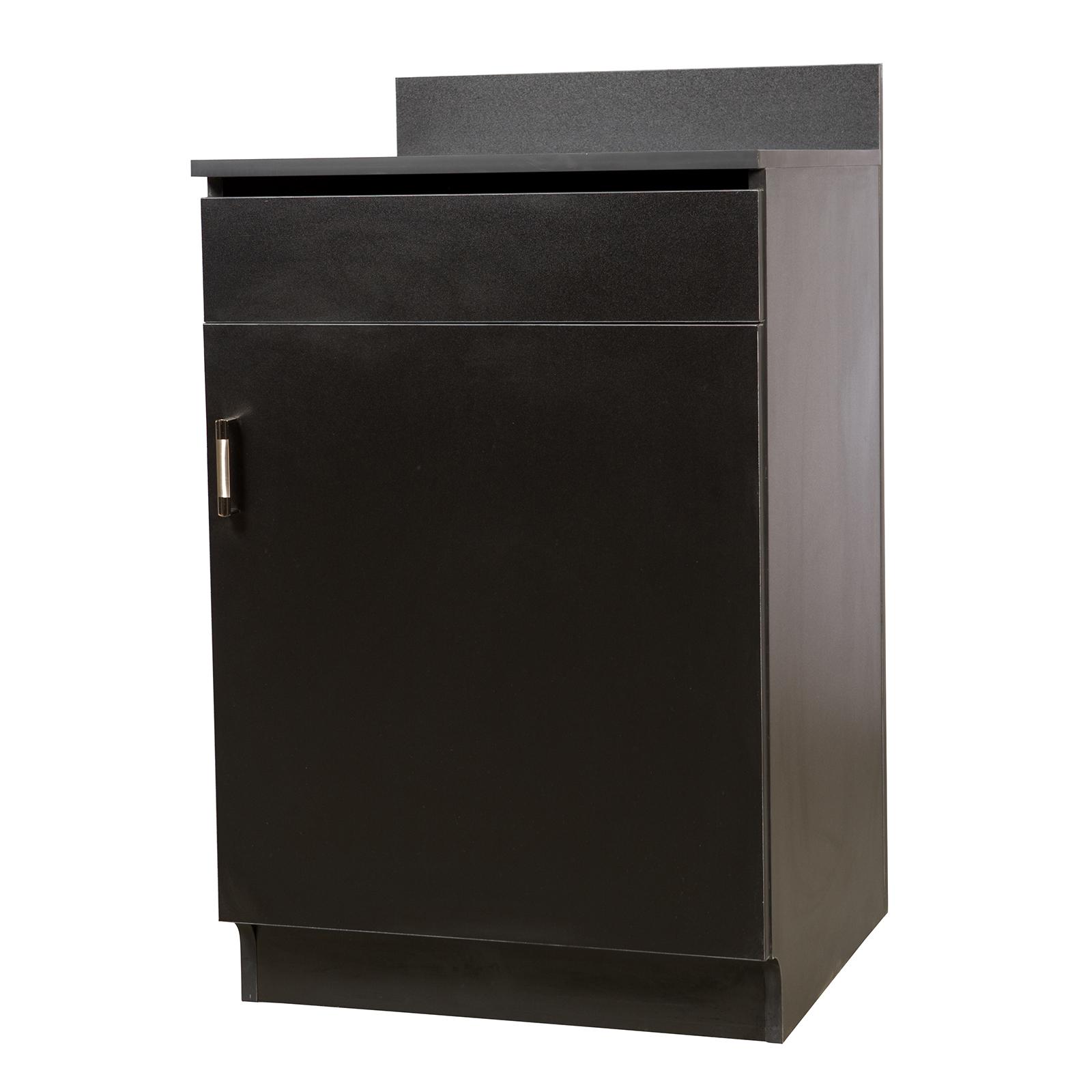 Oak Street M8210-BLK-UNASSEMBLED wait station cabinet