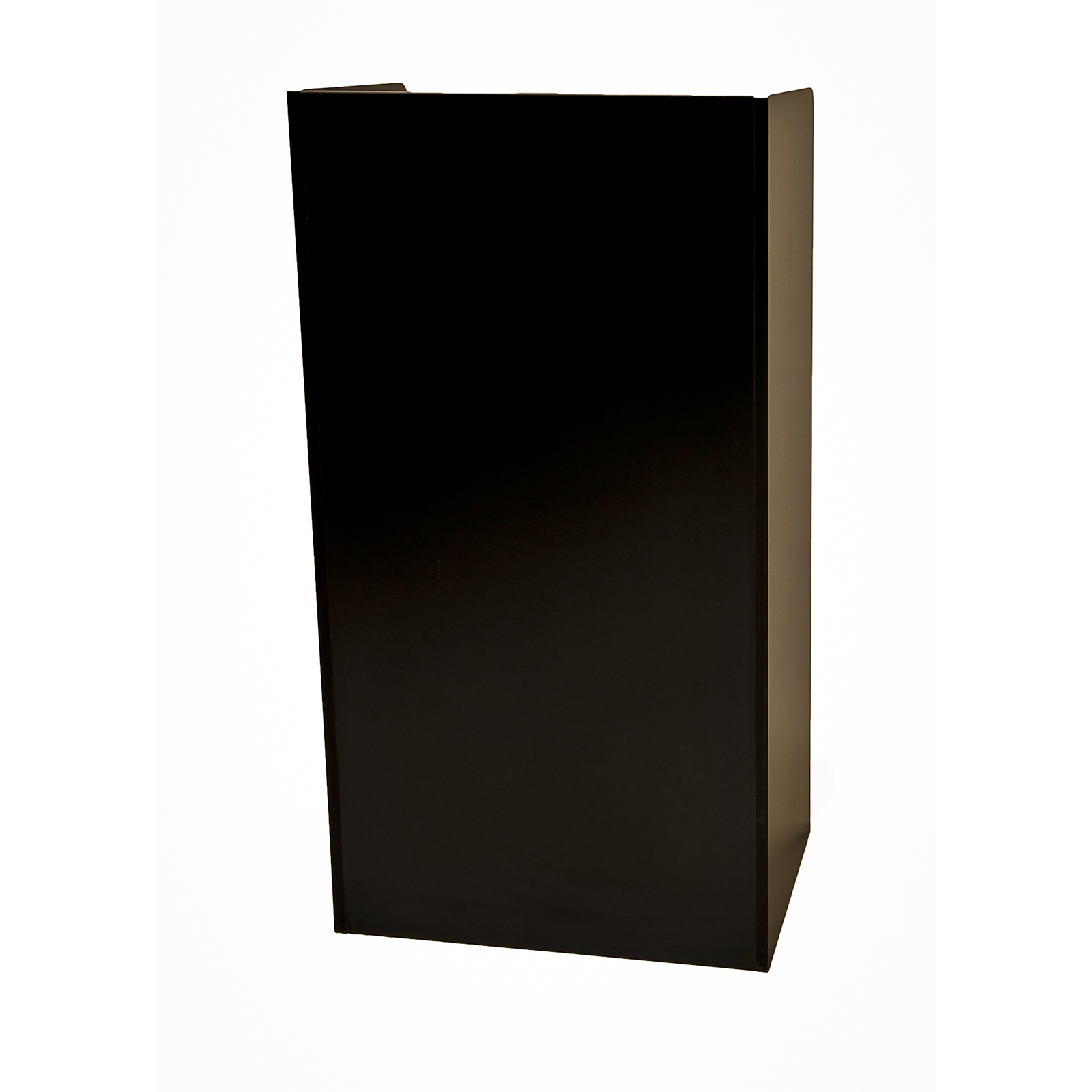 Oak Street M8810-BLK-UNASSEMBLED hostess maitre d stand
