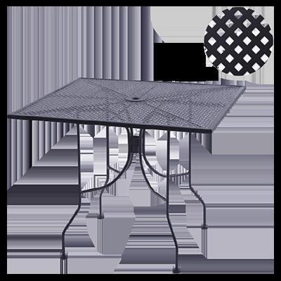 Oak Street OD3030-STD table, outdoor