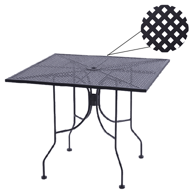 Oak Street OD30R-BAR table, outdoor
