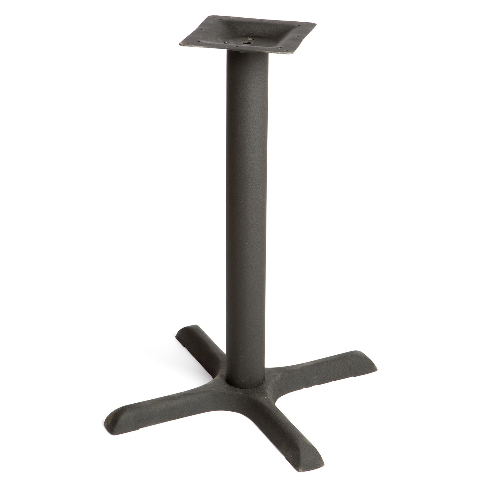 Oak Street OD-B22-STD table base, metal