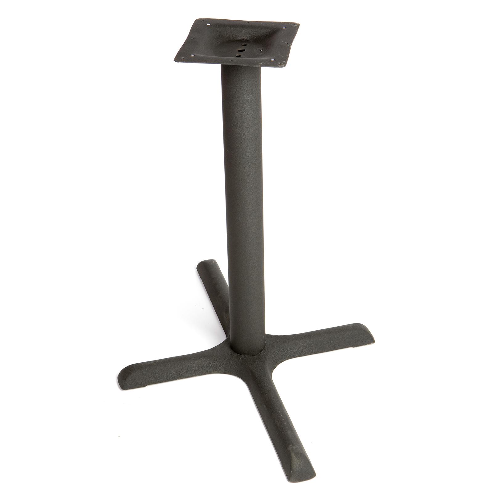 Oak Street OD-B30-4-STD table base, metal