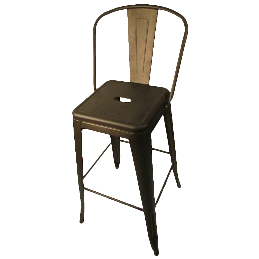 Oak Street OD-BM-820-BRZ-XL bar stool, outdoor