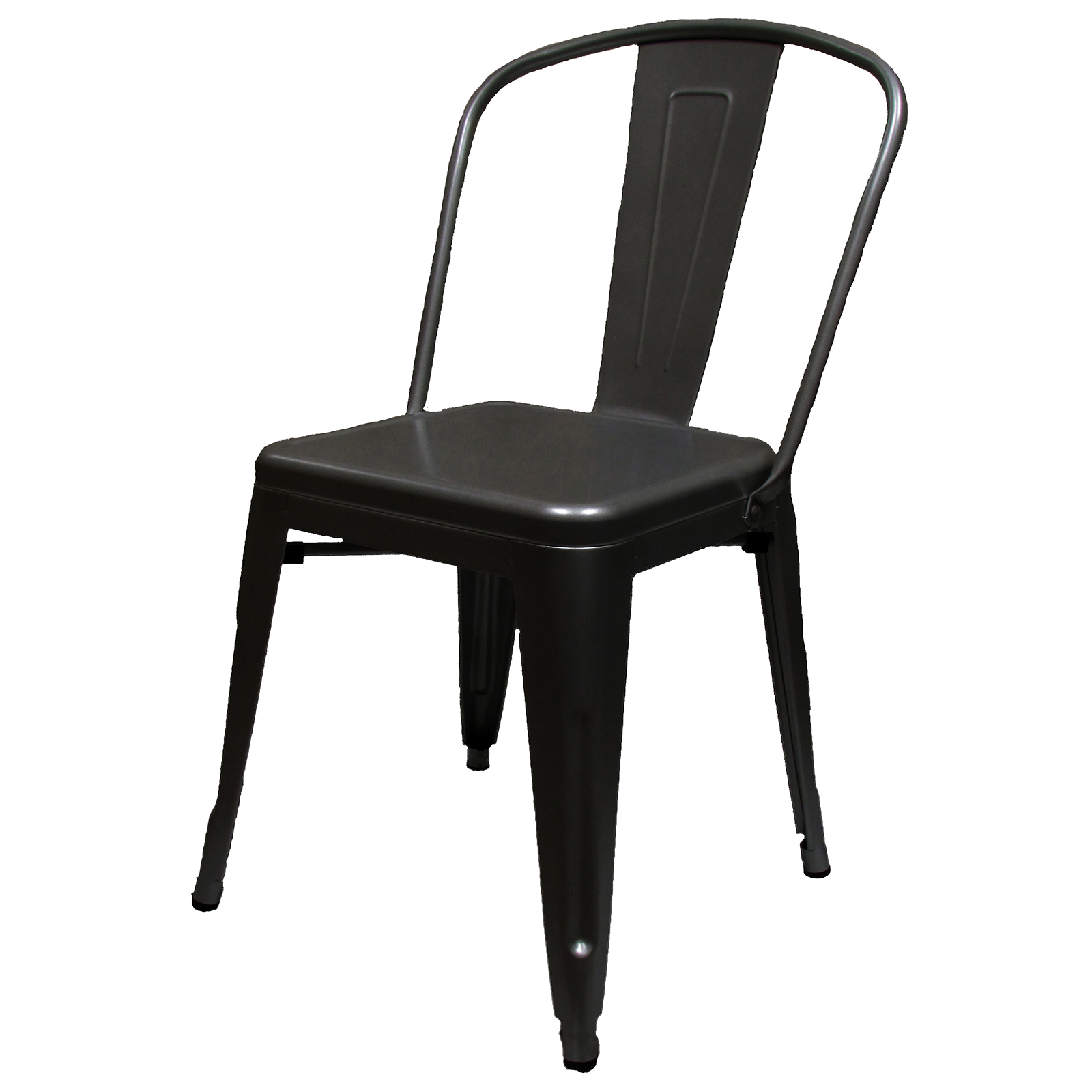 Oak Street OD-CM-820-BLK-XL chair, side, stacking, outdoor