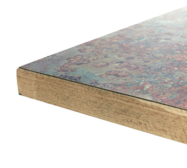 Oak Street OLWE36R table top, laminate