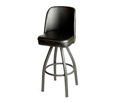 Oak Street SL0136-BLK bar stool, swivel, indoor