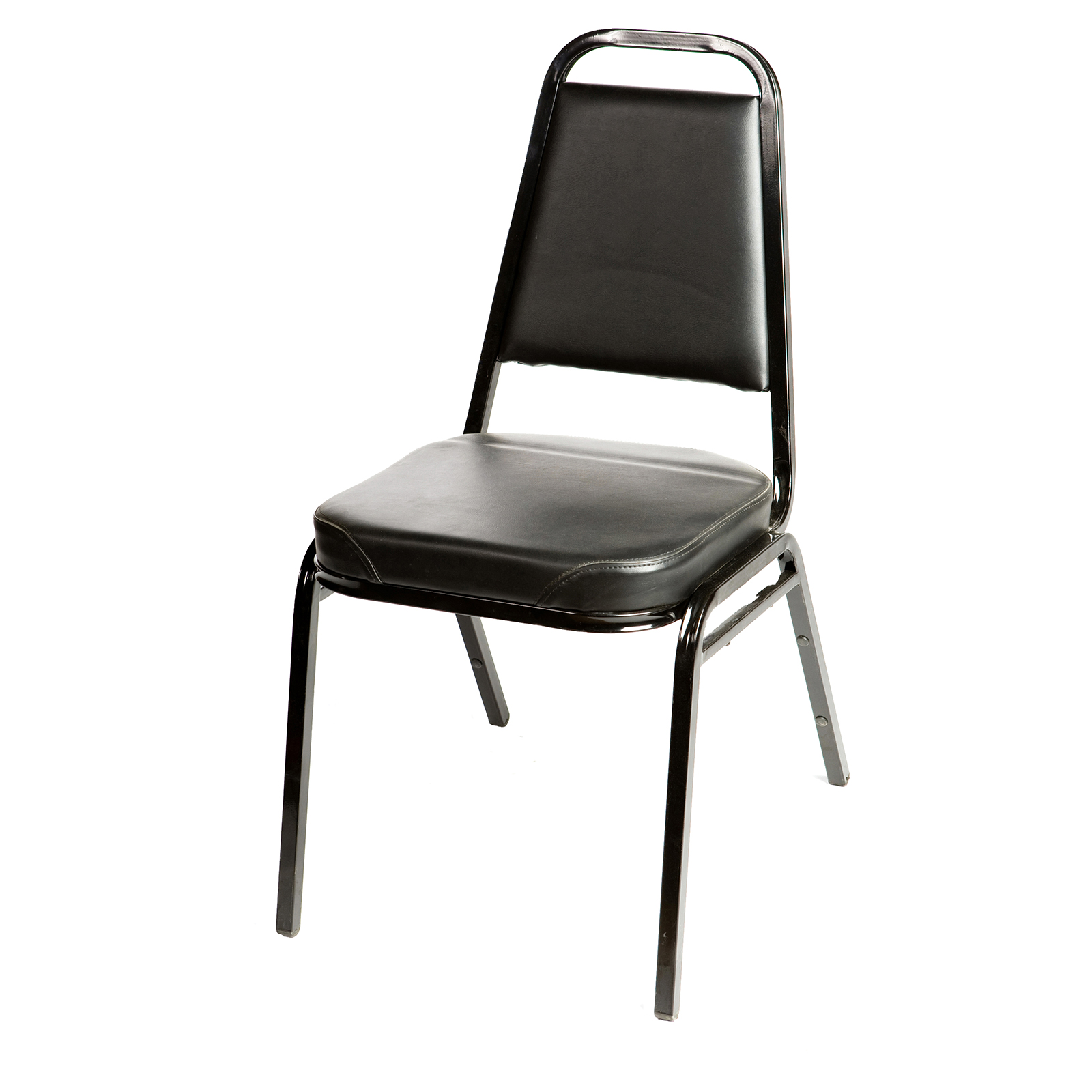Oak Street SL2082-BLK chair, side, stacking, indoor