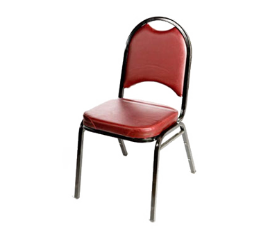 Oak Street SL2089-WINE chair, side, stacking, indoor