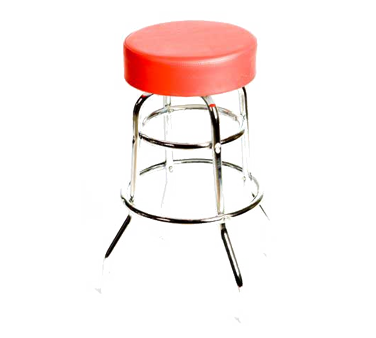 Oak Street SL2129-RED bar stool, swivel, indoor