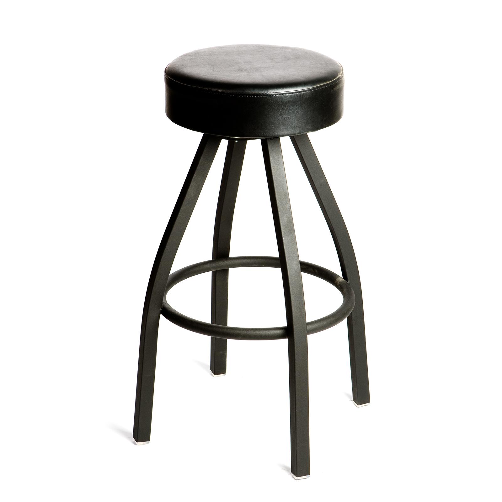 Oak Street SL2132-BLK bar stool, swivel, indoor