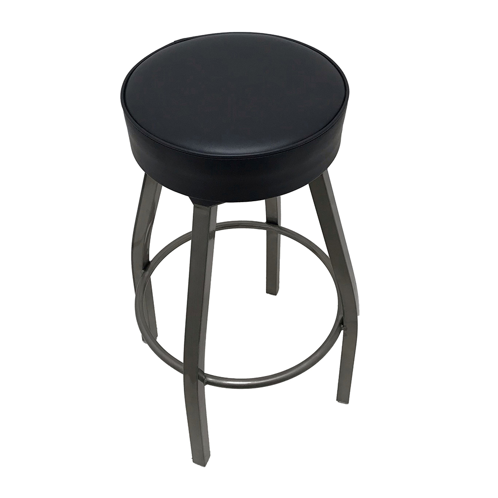 Oak Street SL2132-CCS-BLK bar stool, swivel, indoor