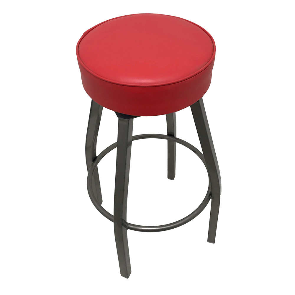 Oak Street SL2132-CCS-RED bar stool, swivel, indoor