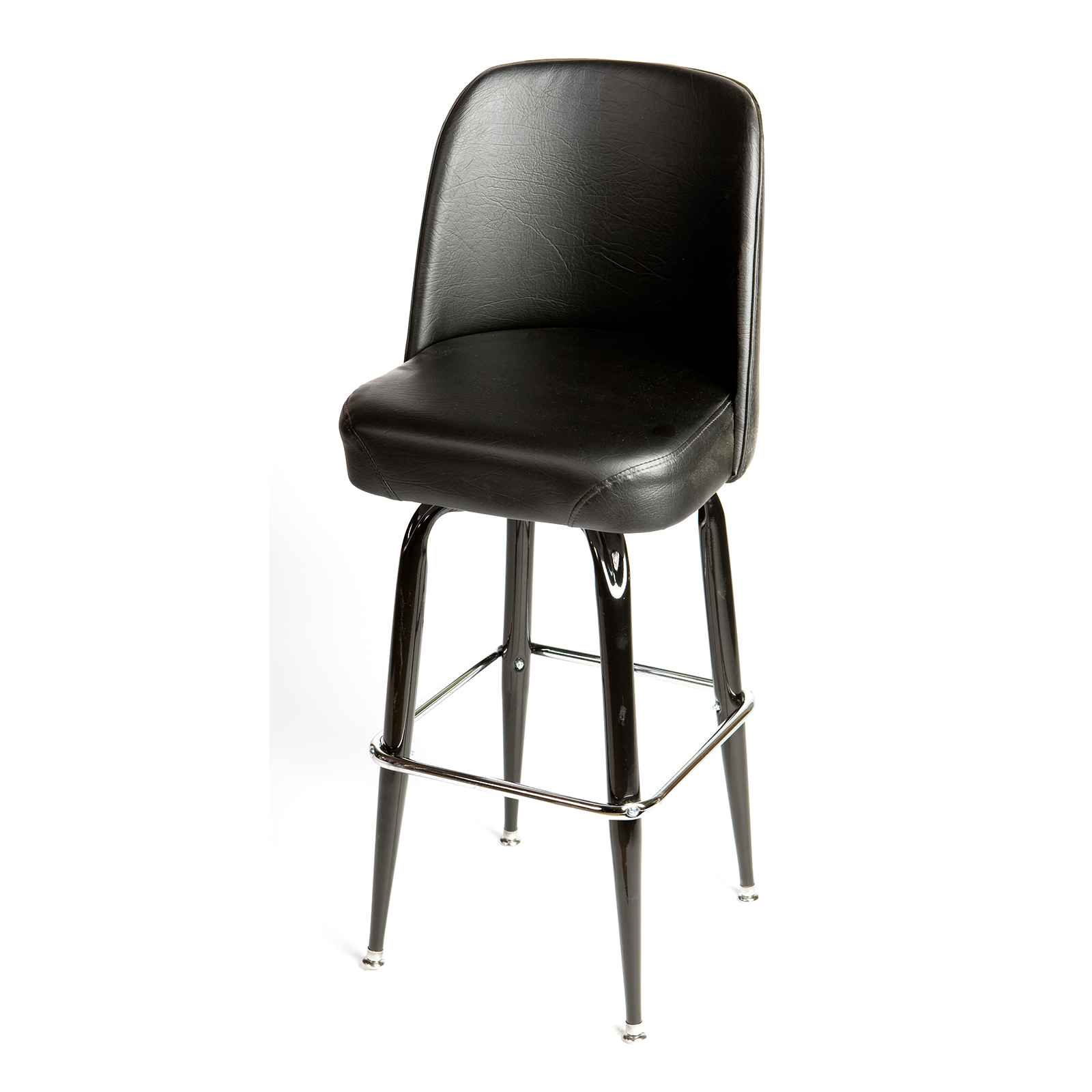 Oak Street SL2133-BLK bar stool, swivel, indoor