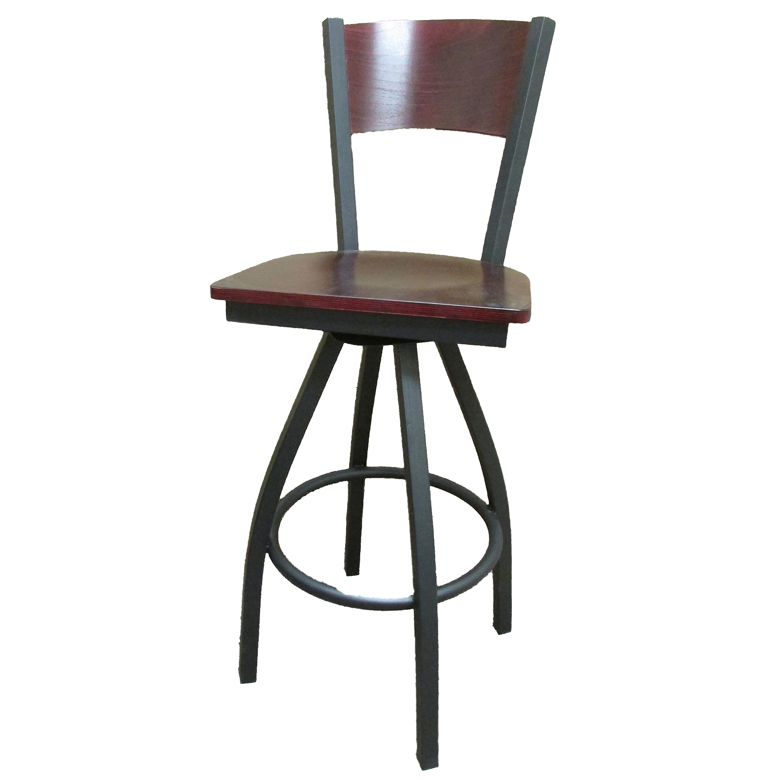 Oak Street SL2150-1S-P bar stool, swivel, indoor