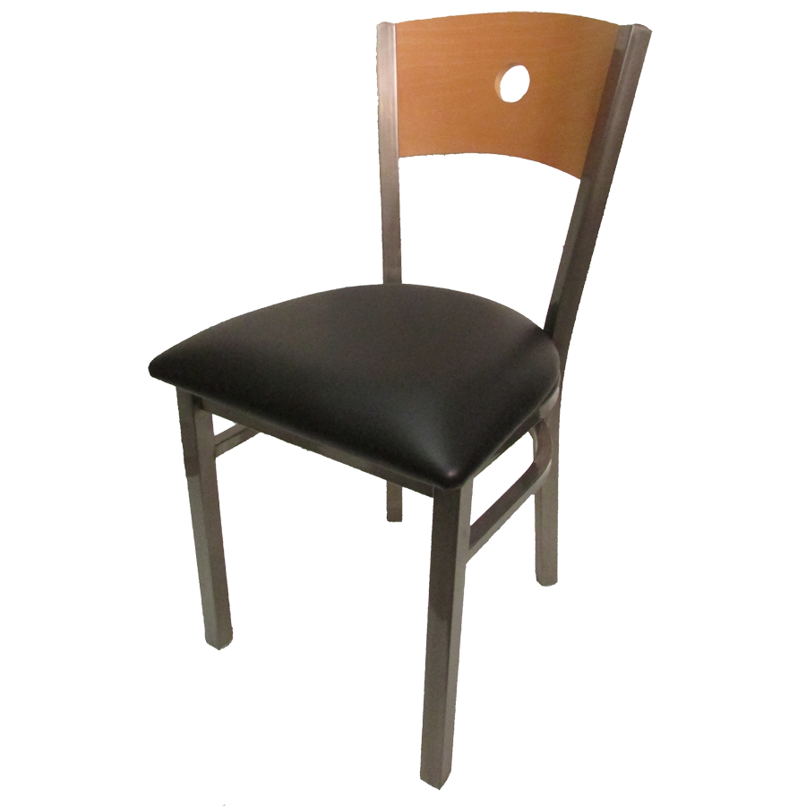 Oak Street SL2150CCS-B chair, side, indoor