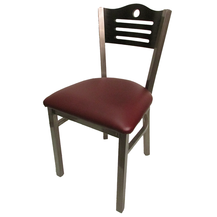 Oak Street SL2150CCS-SH chair, side, indoor
