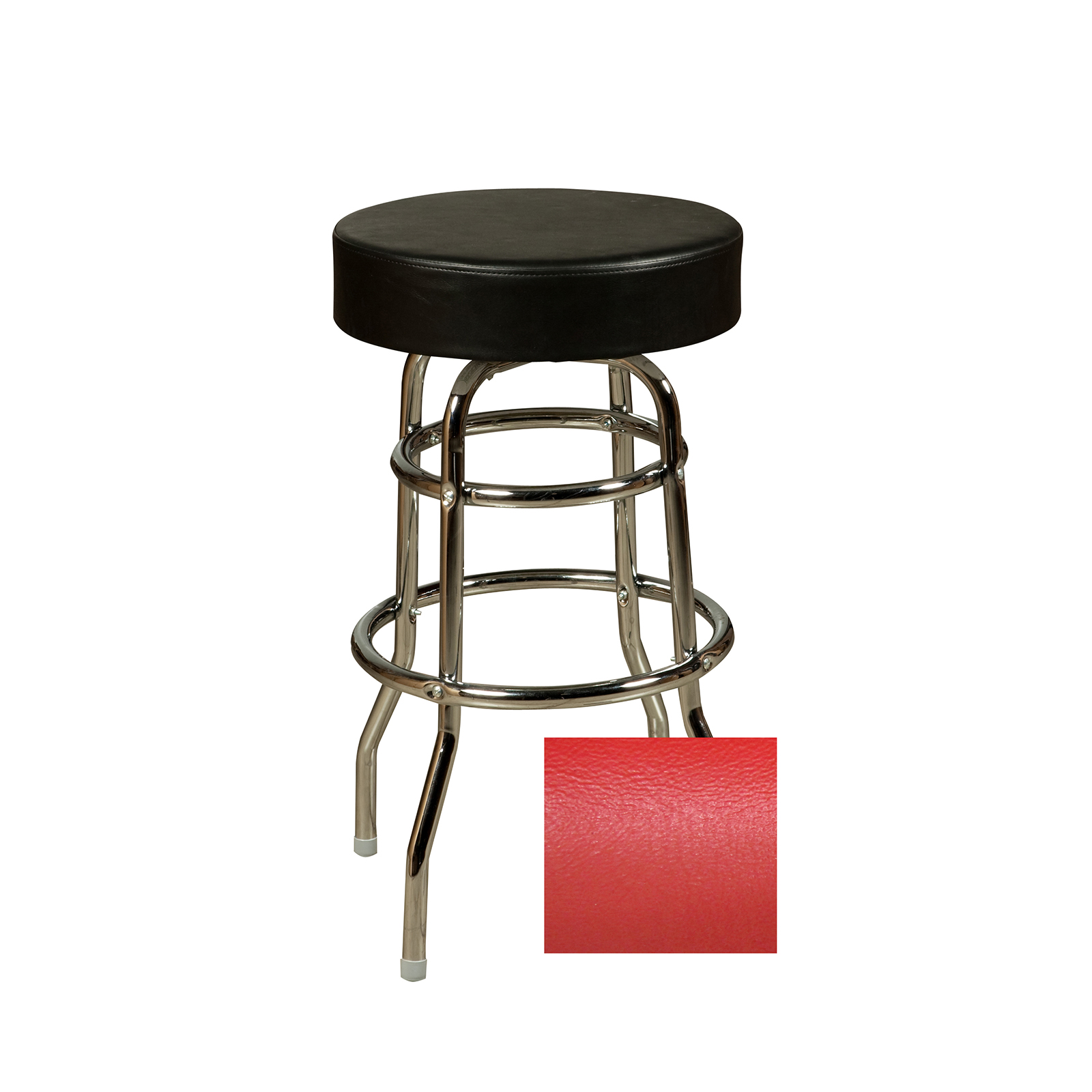 Oak Street SL3129-RED bar stool, swivel, indoor
