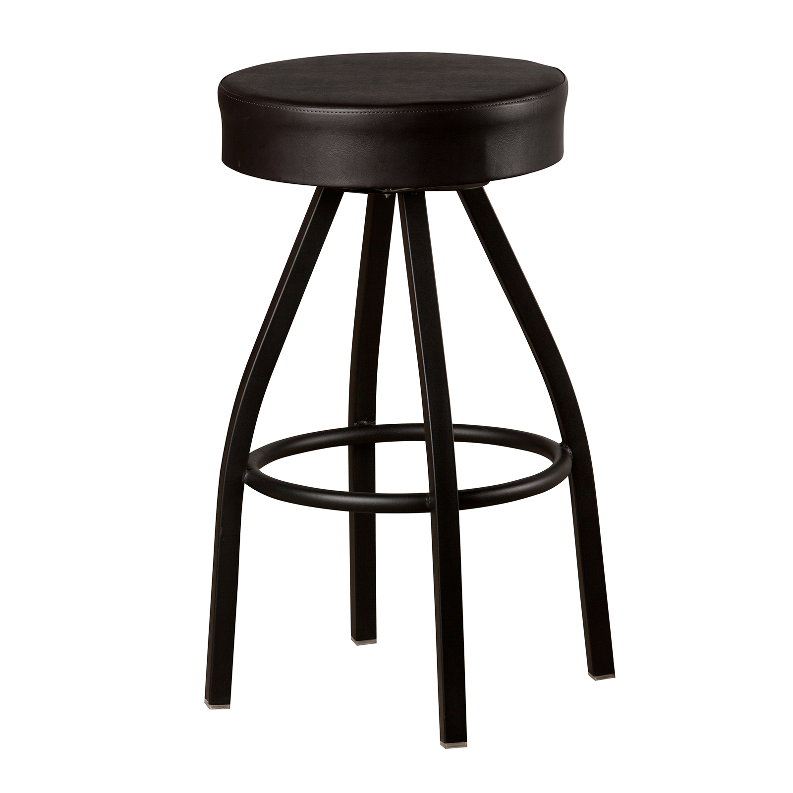 Oak Street SL3132-BLK bar stool, swivel, indoor