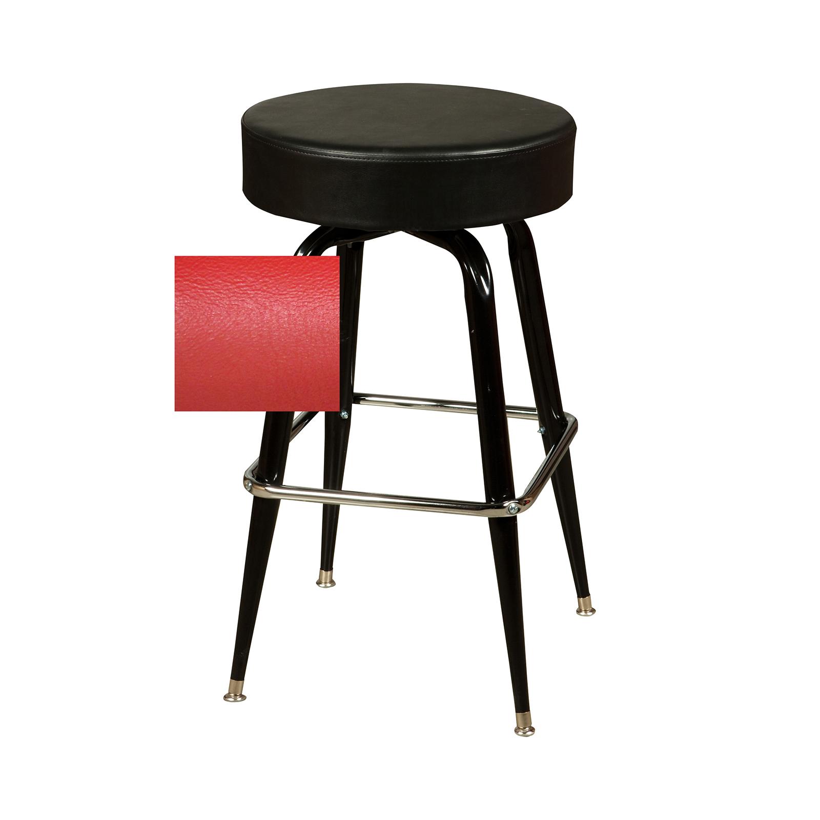 Oak Street SL3135-RED bar stool, swivel, indoor