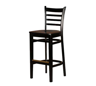 Oak Street WB101BLK bar stool, indoor