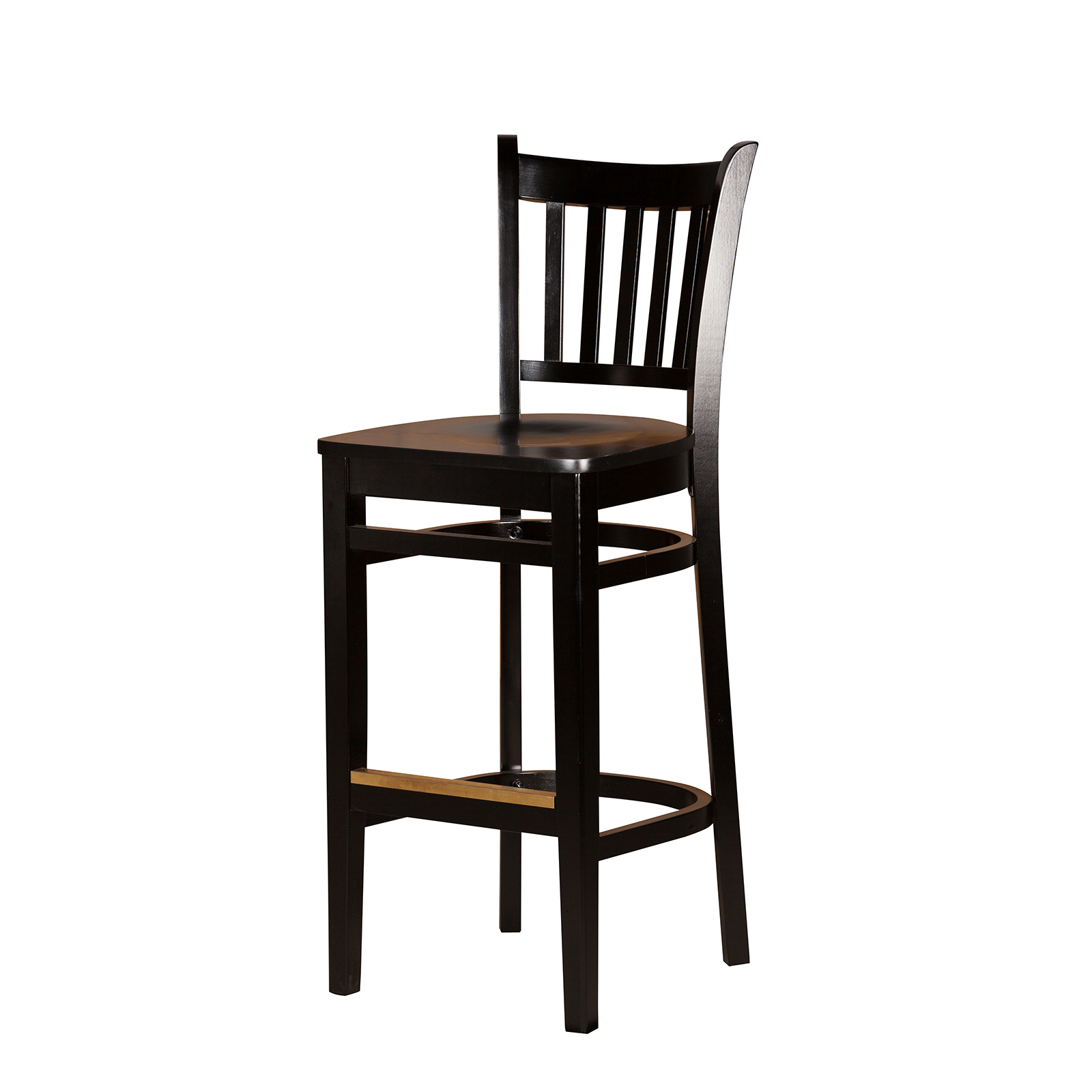 Oak Street WB102BLK bar stool, indoor