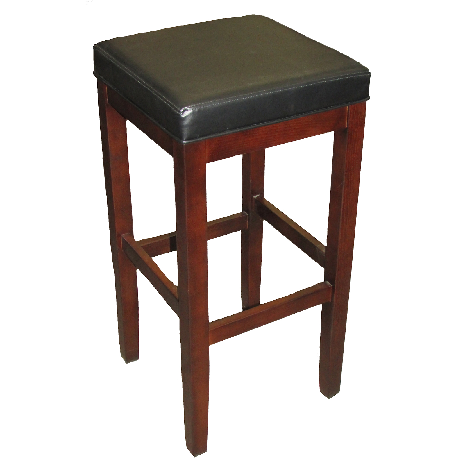 Oak Street WB122-BLK bar stool, indoor