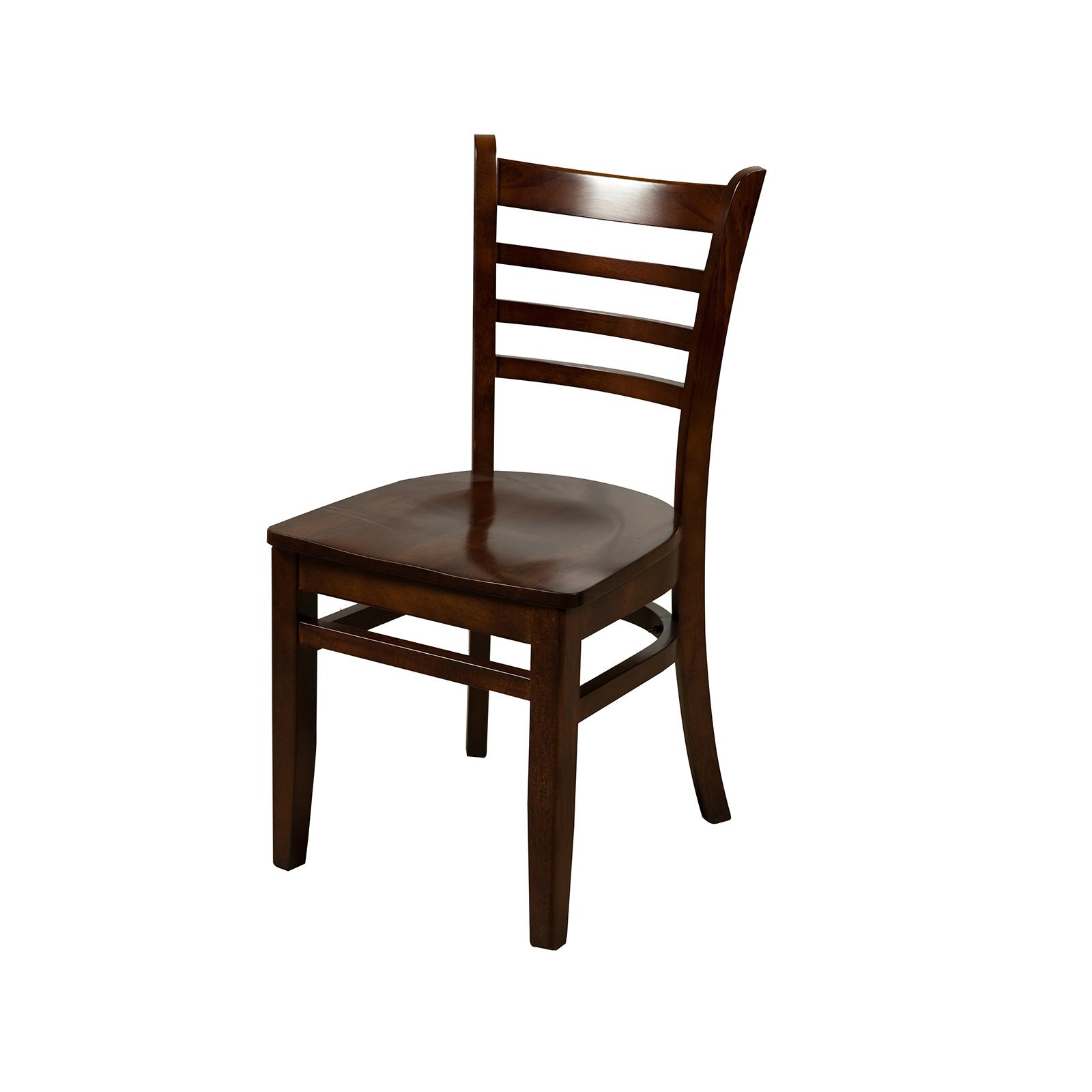 Oak Street WC101WA chair, side, indoor