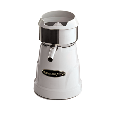 Omega C-10W juicer, electric