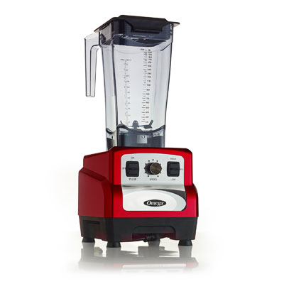 Omega OM6560R blender, food, countertop
