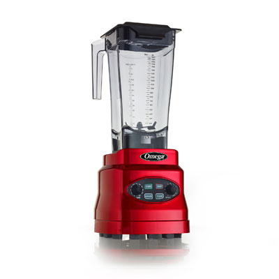 Omega OM7560R blender, food, countertop