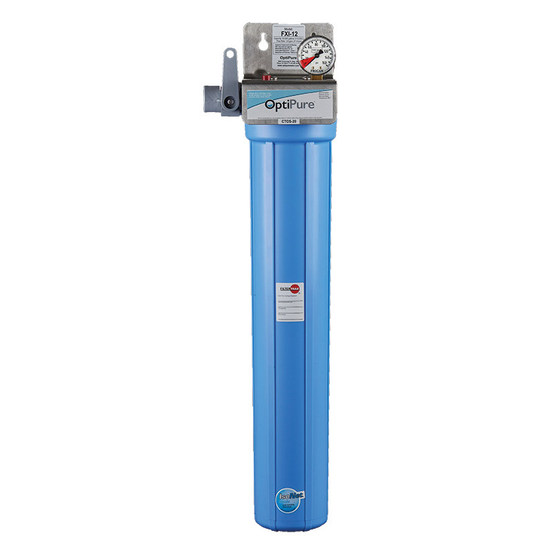 OptiPure FXI-12 water filtration system, for ice machines