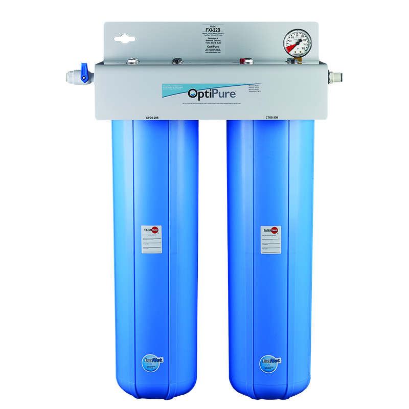 OptiPure FXI-22B water filtration system, for ice machines